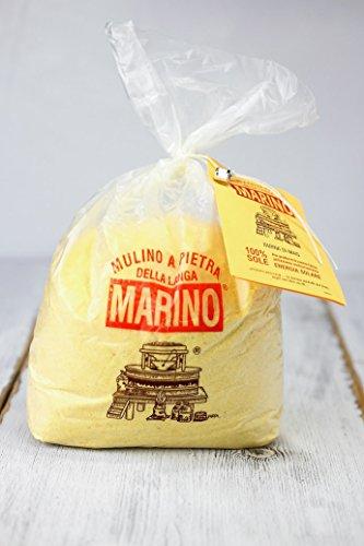 ポレンタ粉 (黄色・粗粒・石臼挽き) 1kg ムリーノ・マリーノ社 イタリア産 (Italian Polenta powder by Mulino Marino)