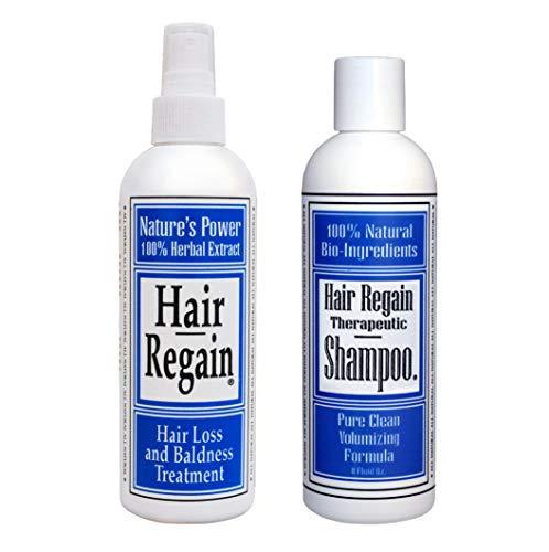 Hair Regain Hair Loss Shampoo - No Sulfates - 4 Month Supply