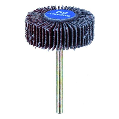Dremel 502 Schleiffächer - Zubehörsatz für Multifunktionswerkzeug mit 1 Schleiffächer Körnung 80 28.6mm zum Schleifen Gerader oder Konturierter Oberflächen auf Metall, Holz, Gummi oder Kunststoff