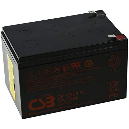 CSB Standby Batería Plomo Adecuada para APC Smart-UPS SU520INET 12V 12Ah