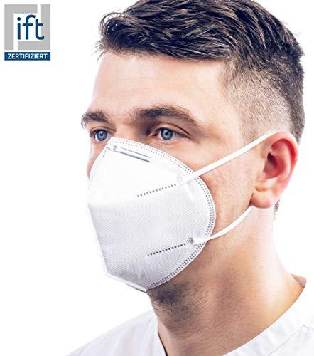 ViTho [5-Stück] TOP Schutz ohne Ventil   Atmung Schutz gegen Staub, Pollen, Abgase, Luftverschmutzung