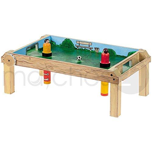 matches21 Magnet-Tischfußball Bausatz f. Kinder Werkset Bastelset ab 12 Jahren