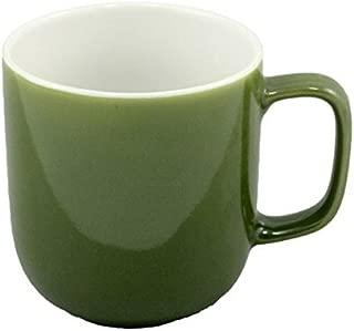Price & Kensington Olive Green Mug, 14-Ounce