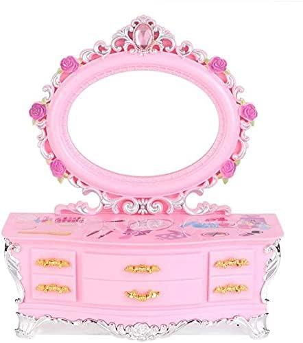 縦断勾配 Max 65% OFF Jewelry Organiser Case Music Large-scale sale Pink Girl's Little Box