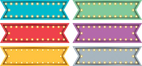 Teacher Created Resources Labels Marquee Labels (TCR20870)