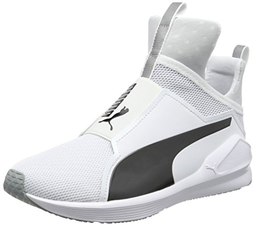 Puma Damen Fierce Core Sneakers, Weiß (Puma White-Puma Black 11), 40.5 EU