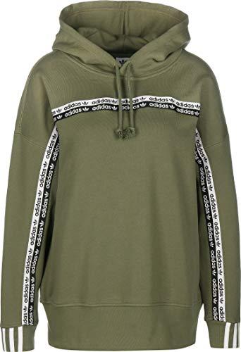 Adidas Damen HOODIE Sweatshirt, grün (legacy green), 36