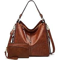 Gladdon Hobo Faux Leather Large Crossbody Handbag