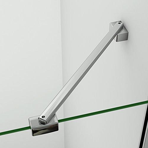 Stabilisierungsstange Haltestange Stabilisator für Duschabtrennung Duschkabine Walk in duschwand dusche Verschiedene Typen 30-140cm F-068