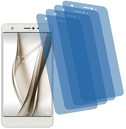 I 4X Crystal Clear klar Schutzfolie für bq Aquaris X Pro Premium Bildschirmschutzfolie Displayschutzfolie Schutzhülle Bildschirmschutz Bildschirmfolie Folie