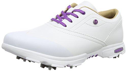 Hi-Tec Hi-Tec Damen Dri-tec Classic Golfschuhe, Weiß (White/Purple), 37 EU