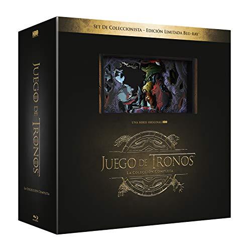 Juego De Tronos Temporada 1-8 Blu-Ray Colección Completa - Edicion Madera [Blu-ray]