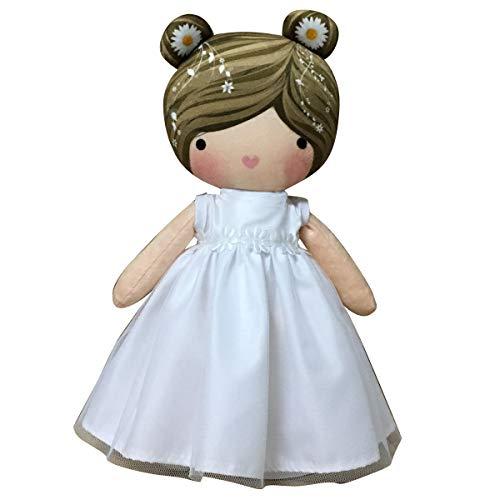 ARTEMODEL- cojin niño azúl comunión muñeca, Multicolor (1)