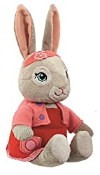 18cm soft toys Based on the character from the hit TV Show Three characters available: Peter, Lily and Benjamin Soft Plush Suitable from birth