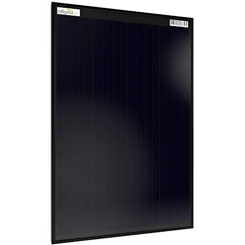 Offgridtec® OLP - Pannello solare da 30 W, 12 V, tecnologia a scandolo PERC