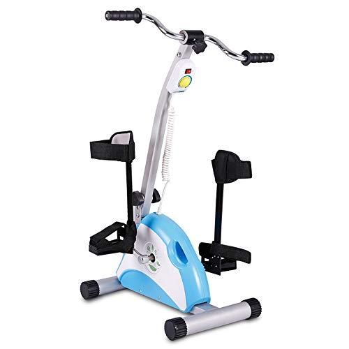 Mini Bicicleta Estática Motorizada Para Ejercitar Las Piernas Y El Brazo Con Soporte Para Piernas, Fitness Mini Bicicleta Estática Eléctrica Motorizada/ Ejercitador De Pedal Para Personas Mayores