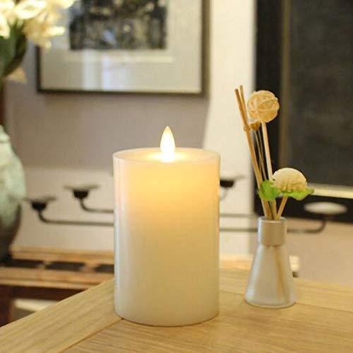aolongwl – Vela, 1 pieza/LED, electrónica, sin llama, velas sin llama