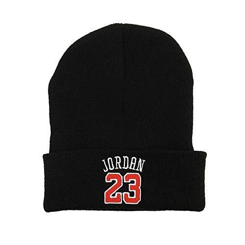 TIEDAN Jordan otoño e Invierno Sombrero de Punto cálido Sombrero de Baloncesto...