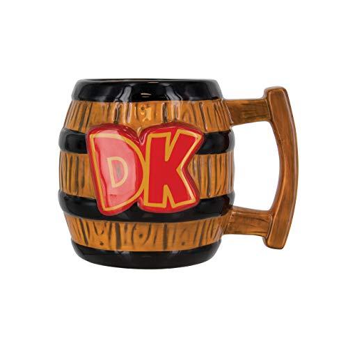 Unbekannt Super Mario Donkey Kong Tasse, Keramik, Mehrfarbig, 9x 15x 10cm