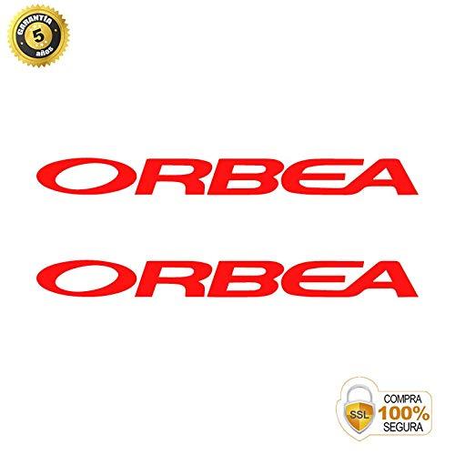 Pegatinas para Bici - Sticker Decorativo Bicicleta - Juego de Adhesivos en Vinilo para Bici ORBEA 3 Pegatinas Cuadro Bici