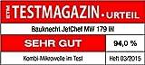 Bauknecht MW 179 IN Mikrowelle mit Grill und Heißluft / 2200 W / 33 L Garraum / LCD-Diplay / Edelstahl - 12