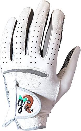 Grip it Girl Women's Genuine Cabretta Leather Golf Glove with a Unique Stable Grip Left Hand. Women's Sizes. Women's Golf Brand