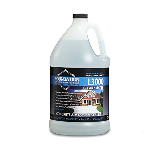 1-Gal. L3000 Concentrated Water-Based Lithium Silicate Densifier, Hardener, and Sealer for Concrete & Masonry