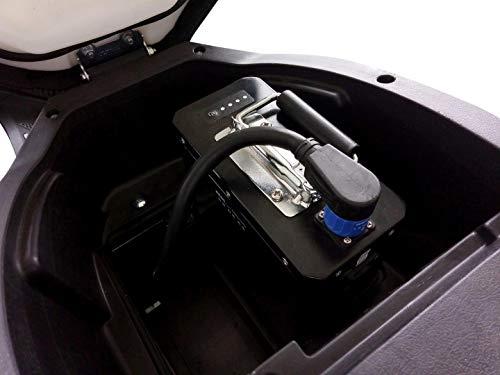 E-Mofa Elettrico Li E-Motorroller in schwarz Bild 4*