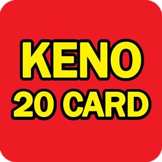 free 20 card keno games