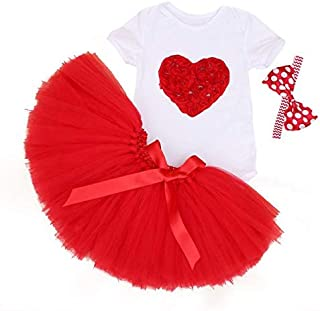Red Baby Clothing Set For Girls