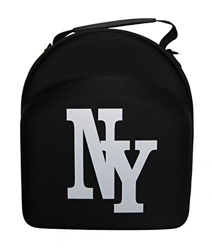 beybey Cap Tragekoffer Schwarz Cap Tasche Koffer Carrier 6Pack (Black NY)