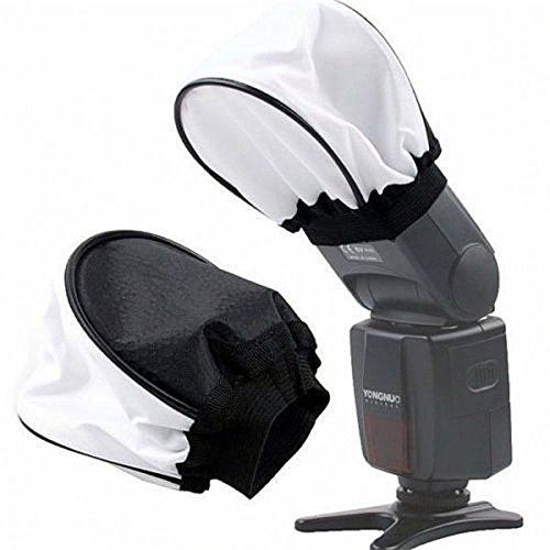 universal Foldable Cloth Soft Box Flash Bounce Diffuser for Canon 580EX 430EX II/550EX/540EZ