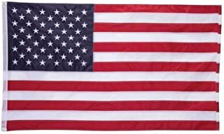 5 X 3 100% Oxford Nylon Embroidered Usa Flag by BNF