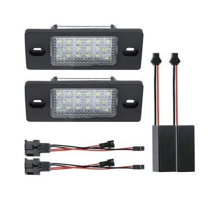 LED Kennzeichenbeleuchtung Kennzeichen kompatibel mit Touareg 7L, Tiguan 5N