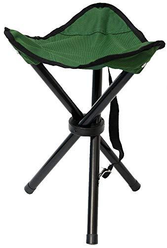Eyepower Taburete Plegable de Campamento | Banquillo Ideal para IR de Pesca...