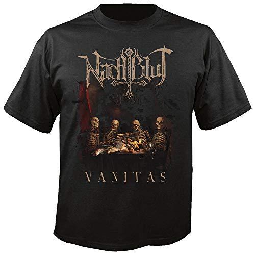 NACHTBLUT - Vanitas - T-Shirt Größe M