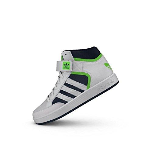 adidas Jungen Varial MID J Skaterschuhe, Blanco (Ftwbla/Versol/Maruni), 29 EU