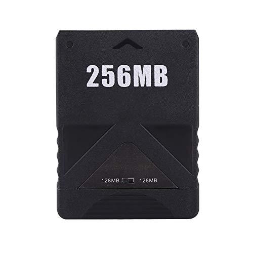 Heitune Speicherkarte High Speed kompatibel Mit Sony Playstation 2 PS2 Spiele Zubehör 256M