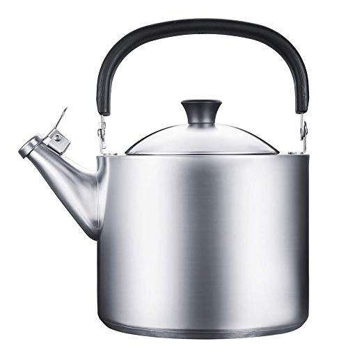Teekanne | Teekannen für Herd | Teekessel | Pfeifender Teekessel | Edelstahl-Teekessel |Kapazität 3,5 l |Haushalt |Verschiedene Öfen, für Zuhause, Büro, Outdoor