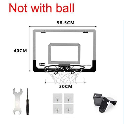 TriGold Spielzeug Basketballkorb Für Kinder,Mini Basketball Ring Über Der Tür,wandmontage Flex Rim Mit Feder Indoor Outdoor C