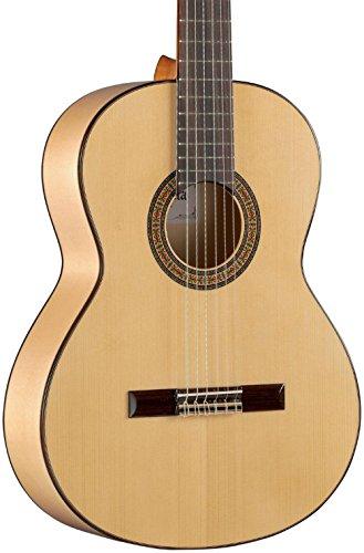 Alhambra 6 String Acoustic Guitar, Right, Solid Canadian Cedar, Flamenco (3F-US)