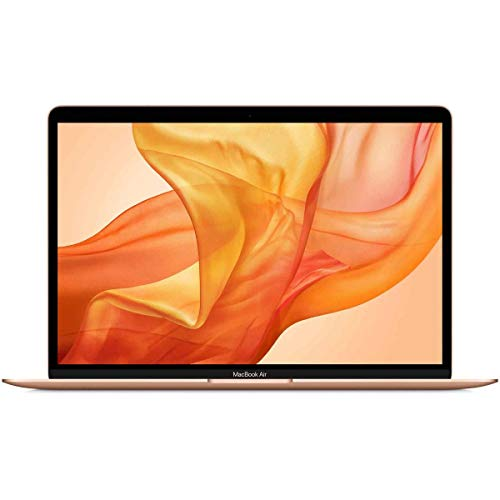 """Apple MacBook Air 13.3"""" with Retina Display, 1.1GHz Quad-Core Intel Core i5, 8GB Memory, 256GB SSD, Gold (Early 2020)"""
