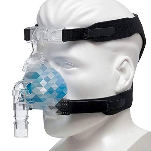ARNÉS UNIVERSAL para Mascarillas de Cpap - Reemplaza headgear ResMed y Respironics - Compatible c/la mayoría de mascarillas Nasales y Faciales (Ver Lista incluída)(Mascarilla y Clips NO incluídos)
