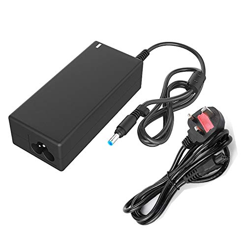 45W Laptop Charger, 19.5V 2.31A Laptop Power Adapter With Power Cord Supply Replacement for HP Stream 11 13 14 Elitebook Folio, Pavilion Touchsmart And More(4.5mm x 3mm) ( Size : Uk )