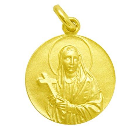 Santa Elena - Medalla en Oro de 1ª Ley de 18k