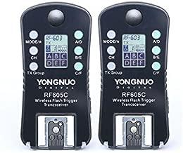 YONGNUO Wireless Flash Trigger & Shutter Release RF-605C RF605C for Canon DSLR 1D/7D/5D,10D/20D/30D/40D/50D series, 60D/70D/400D /500D /600D /700D /1000D series