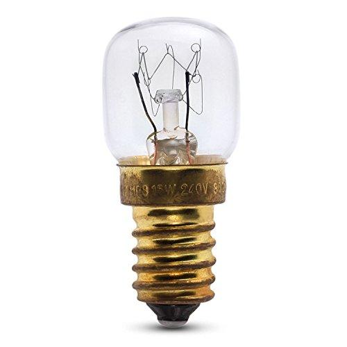 Dependable Trading LTD 15w Lampe du Four pour Une Utilisation dans Un AEG Four. 240v. 300 ° résistant à la Chaleur. Ses (E14) Petite Edison vis Cooker Ampoule
