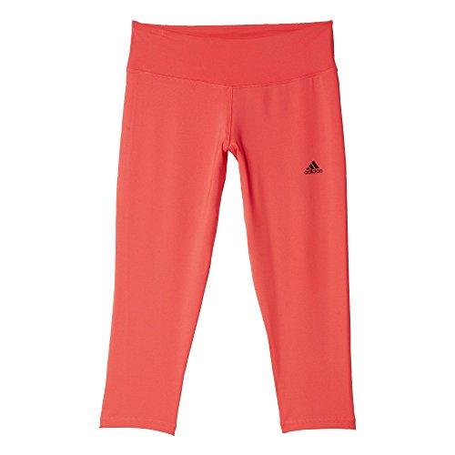 adidas Damen Oberbekleidung Basic 3/4 Tights Women, Shock Red S16/Black, L