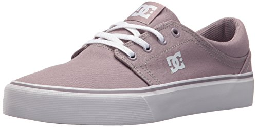 DC Women's Trase TX Skate Shoe, Purple Rain, 10 B US
