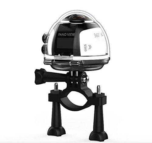 WIFI 360 ° movimento panoramico fotocamera 3DVR Sport estremi Camera Wireless 16MP4K HD 30fps impermeabile 230 ° grande lente giocatore mini DV